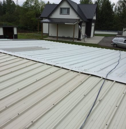 Metal Roofing Painting